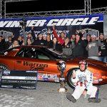 Joel Warren won $50,000 Saturday at South Georgia Motorsports Park.