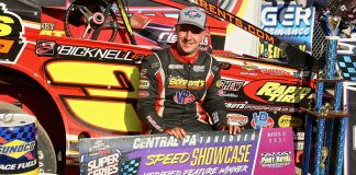 Mat Williamson picked up $5,000 for his victory Sunday at Port Royal Speedway. (Dan Demarco Photo)