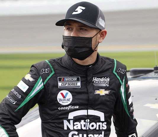 Kyle Larson has launched his own charitable foundation. (HHP/Harold Hinson Photo)
