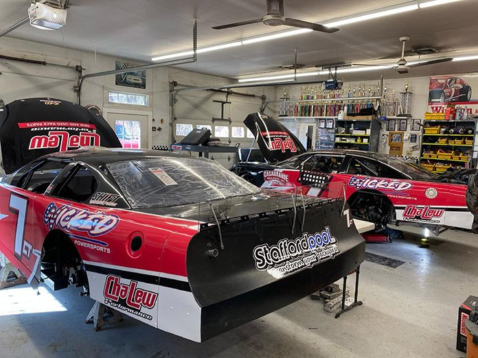 Cory Casagrande is ready to hit the road for Hickory Motor Speedway to compete during Easter Bunny 150 weekend. (Photo Courtesy of Cory Casagrande)
