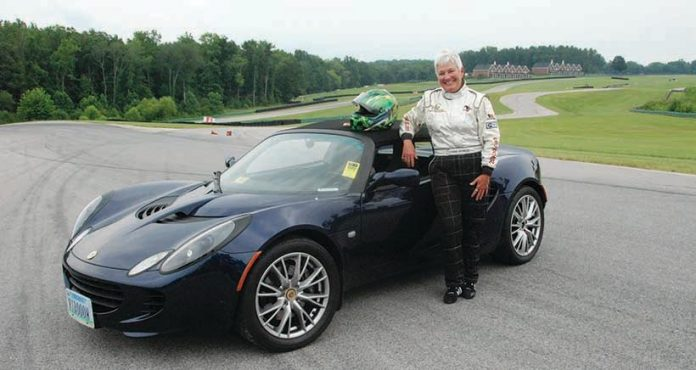 Connie Nyholm is the CEO of Virginia Int'l Raceway, a scenic road course located in Alton, Va.