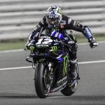 Maverick Viñales won Sunday's MotoGP opener in Qatar. (Yamaha Photo)