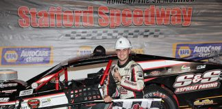 Chase Dowling has plans to contest the full Tri Track Open Modified Series schedule this year. (Jim DuPont Photo)