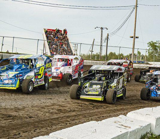 The Super DIRTcar Series will race at Bloomsburg Fairgrounds Raceway in September. (Joe Grabianowski Photo)