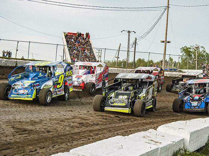 The Super DIRTcar Series will race at Bloomsburg Fairgrounds Raceway in September. (Joe Grabianowski Photo)