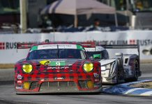 Pfaff Motorsports scored its first 12 Hours of Sebring victory recently. (IMSA photo)