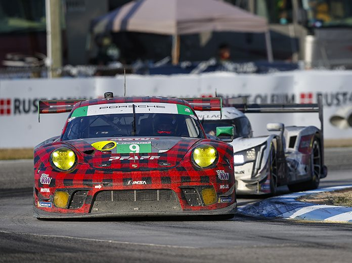 Pfaff Motorsports scored its first 12 Hours of Sebring victory recently. (IMSA photo)