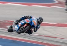 Bobby Fong topped the final day of the annual MotoAmerica preseason test at Circuit of the Americas. (Brian J. Nelson Photo)