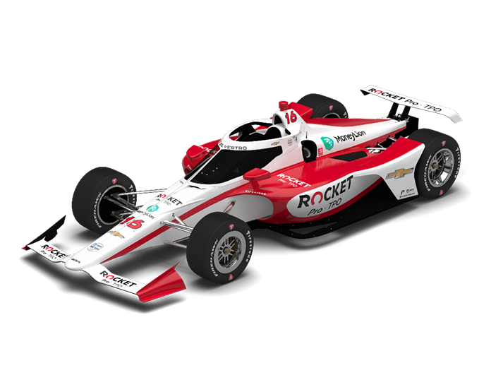 Rocket Pro TPO will be the primary sponsor of Paretta Autosport during the Indianapolis 500.