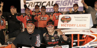 Ryan Preece plans to compete in the tour-type modified portion of the Thompson Speedway Motorsports Park Icebreaker this Sunday. (Michael Jaworecki Photo)