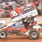 Billy Dietrich turned speed into a trip to victory lane last weekend at Lincoln Speedway. (Paul Arch Photo)