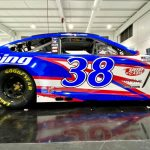 iRacing will sponsor Front Row Motorsports and Anthony Alfredo this weekend at Martinsville Speedway.
