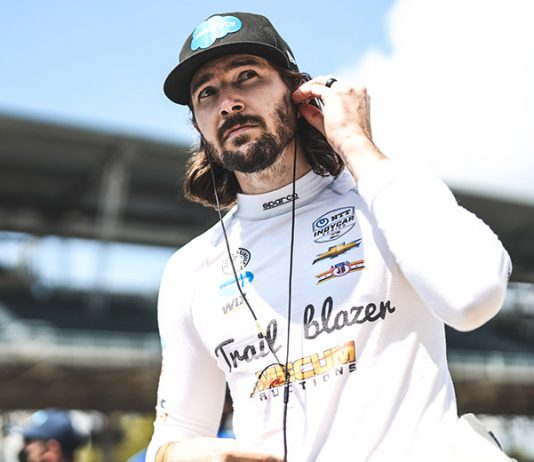 J.R. Hildebrand has joined A.J. Foyt Racing for the Indianapolis 500. (IndyCar Photo)