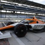 Juan Pablo Montoya was one of several returning veterans to complete the refresher course Thursday at Indianapolis Motor Speedway. (IndyCar Photo)