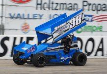 Billy Hubbard Saturday at Shenandoah Speedway. (David Sink Photo)