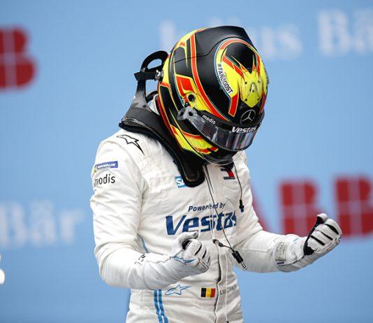 Stoffel Vandoorne won round two of the Rome E-Prix on Sunday. (Formula E Photo)