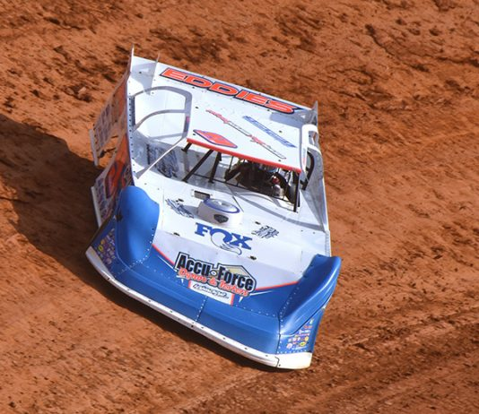 Devin Moran earned a $25,000 payday during the Bristol Bash Sunday afternoon. (Paul Arch Photo)
