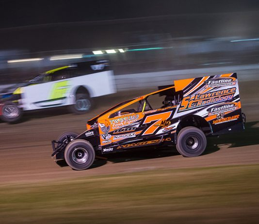 Despite going winless at Fonda Speedway last year, Mike Maresca claimed the track championship for the first time. (Dylan Friebel Photo)