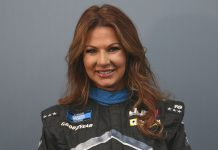 Jennifer Jo Cobb will make her NASCAR Cup Series debut later this month at Talladega Superspeedway.