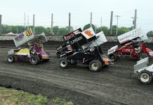 The 305 sprint car class will be in action Friday at Illinois' Lincoln Speedway. (Joe Putnam Photo)