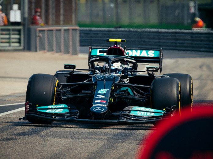 Bottas Leads Mercedes Sweep