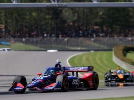 Alex Palou raced to his first NTT IndyCar Series triumph on Sunday at Barber Motorsports Park. (IndyCar Photo)