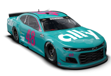 Alex Bowman will honor his crew chief, Greg Ives, with a throwback scheme at Darlington Raceway.