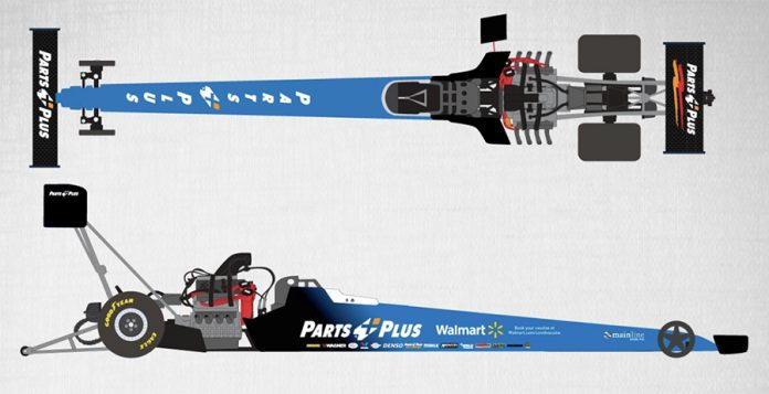 Walmart has teamed with Stringer Performance and NHRA Top Fuel driver Clay Millican for a COVID-19 vaccine event at Atlanta Dragway.