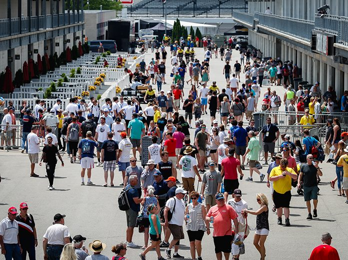 All off-track events surrounding the Indianapolis 500 have reportedly been scrapped. (IndyCar Photo)