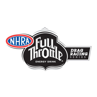 NHRA Full Throttle Drag racing Series Logo