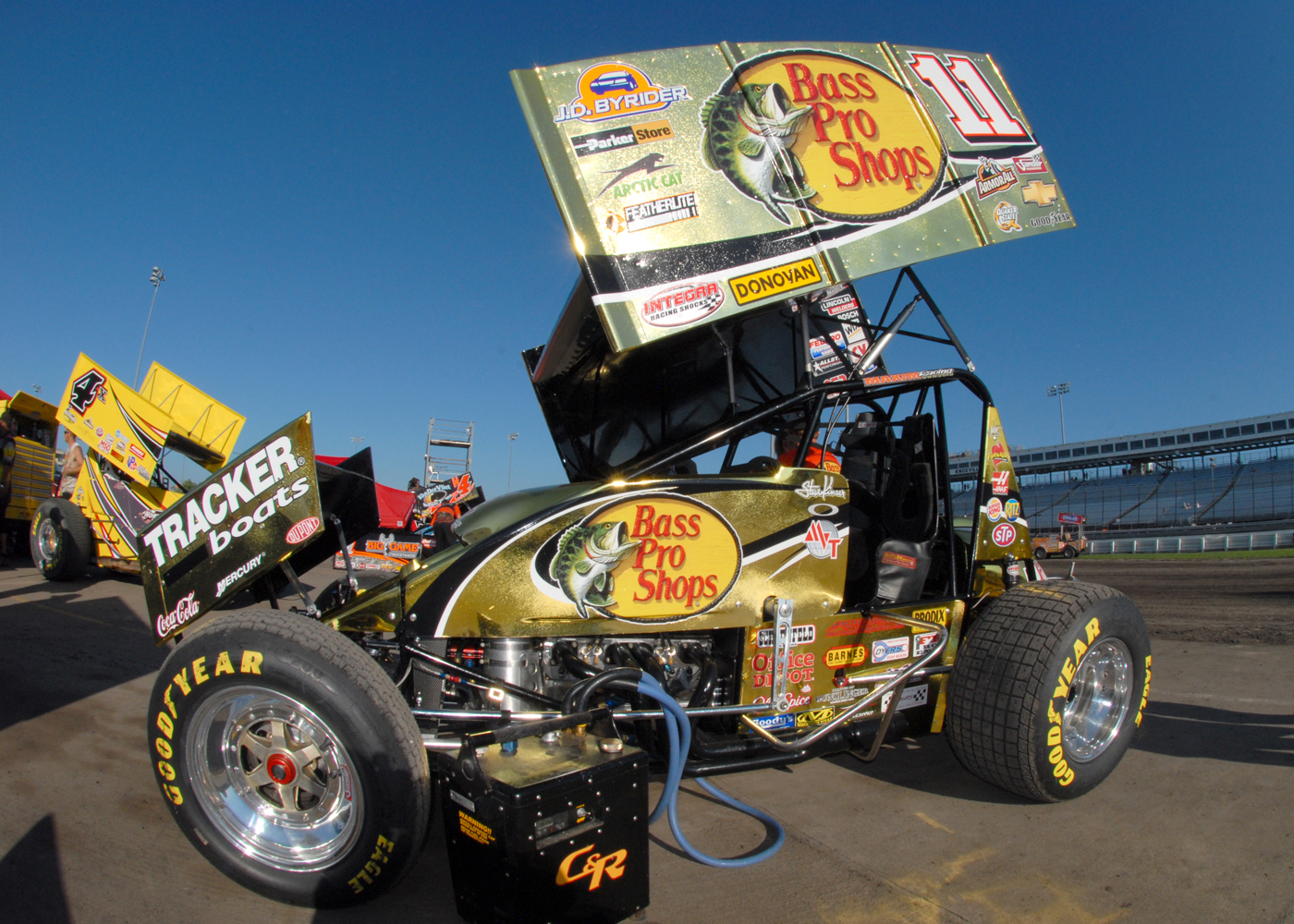 steve kinser 2010 knoxville speed sport