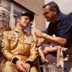 Chris Economaki interviews Mark Donohue.