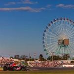 FAIR DAY: Eventual winner Sebastian Vettel navigates Japan's Suzuka Int'l Racing Course during Sunday's Formula One Japanese Grand Prix. (Steve Etherington Photo)