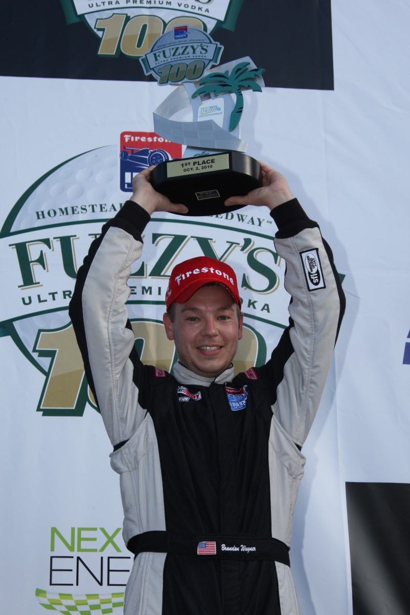 Brandon Wagner (Dana Garrett/IRL IndyCar Series Photo)