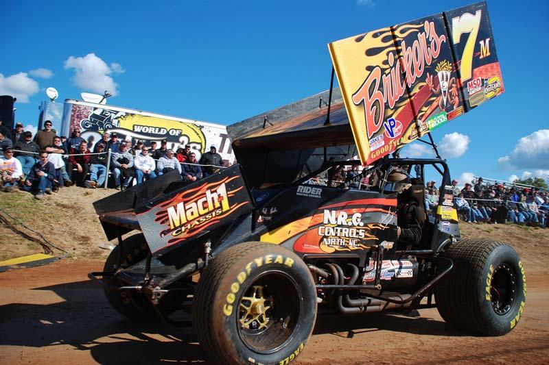 READY TO ROLL: Mark Smith awaits his turn on track. (Justin Leedy Photo)