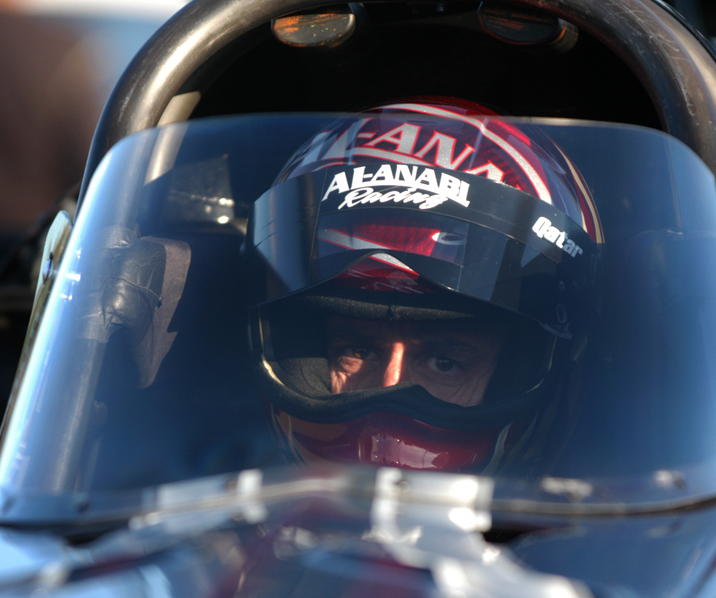 TITLIST: Larry Dixon clinched his third NHRA Top Fuel championship Sunday. (Angela Barazza Photo)
