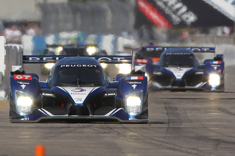 The European-based Peugeot team swept the two biggest events on the ALMS calendar — the season-opening 12 Hours of Sebring and the Petit Le Mans, which concludes the season at Road Atlanta. (Ted Rossino, Jr. Photo)