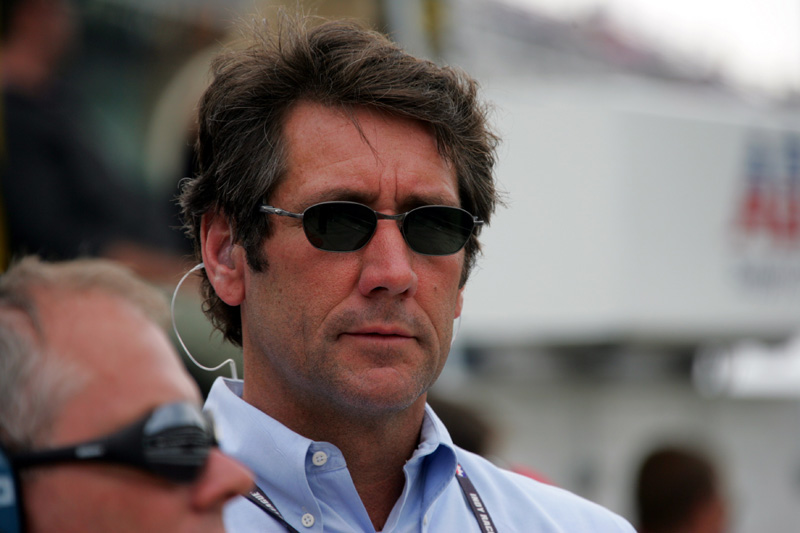 Tony George resigned as a member of the Indianapolis Motor Speedway Corp. board of directors in January. (Ron McQueeney/IRL IndyCar Photo)