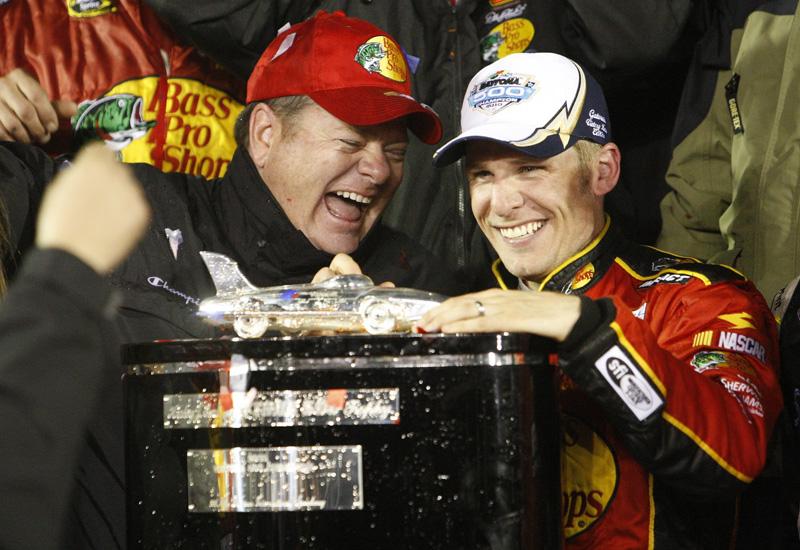 Chip Ganassi's record-breaking season began with Jamie McMurray's win in February's Daytona 500. (HHP/Gregg Ellman Photo)