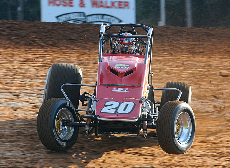 Levi Jones tied Steve Butler with his fourth-career USAC National Sprint Car Series championship, but also added his first Silver Crown title to the mix and narrowly missed winning the USAC National Driver's Championship. He won eight sprint-car races and two in the Silver Crown division. (John DaDalt Photo)