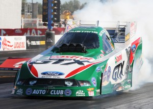 Ashley Force Hood won her second-straight Mac Tools U.S. Nationals on Labor Day. (Frank Smith Photo)