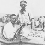 "IN THE SEAT: California dirt-track driver Byron W. ""Speed"" Hinkley in 1930. (Jim Thurman Collection Photo)"