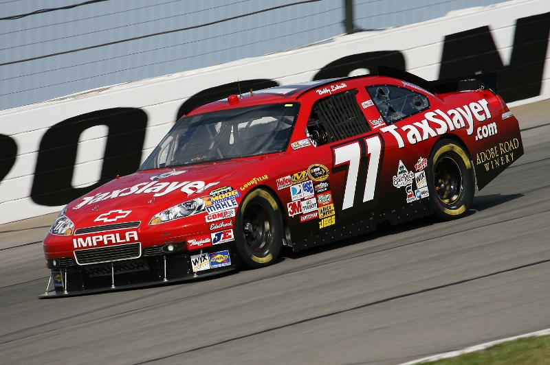 Andy Lally will drive TRG Motorsports' No. 71 in the Daytona 500 Feb. 20. (HHP/Harold Hinson Photo)
