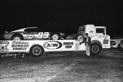 Dick Trickle Transporter on Pit Race Off Cars