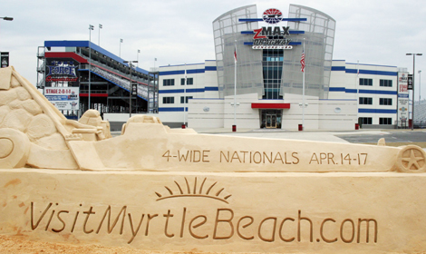 April's NHRA event at zMAX Dragway in Concord, N.C., will now be known as the VisitMyrtleBeach.com NHRA Four-Wide Nationals. (Brad Bowling Photo)