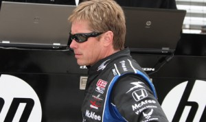 Davey Hamilton was one of four drivers to join the Indy Pro-Am on Monday.