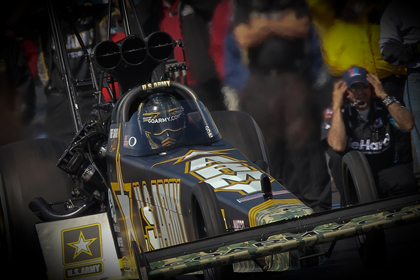 Tony Schumacher earned his first Top Fuel win of the season with his final-round win over teammate Antron Brown. (Ted Rossino, Jr. Photo)