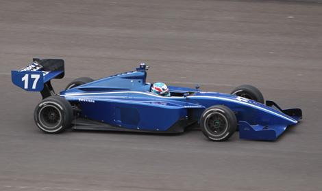 Vautier Quickest At Indy Lights Test | SPEED SPORT