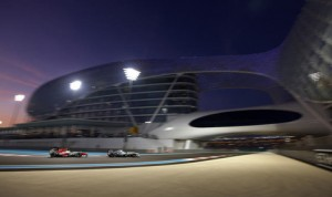 The Yas Marina Circuit hosts the Abu Dhabi Grand PrixYas Marina Circuit which is F-1's only day/night race . (Steve Etherington photo)