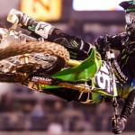 Dean Wilson came home the winner in the Supercross Lites West division during the Monster Energy AMA Supercross round at San Diego's Qualcomm Stadium. (AMA photo)